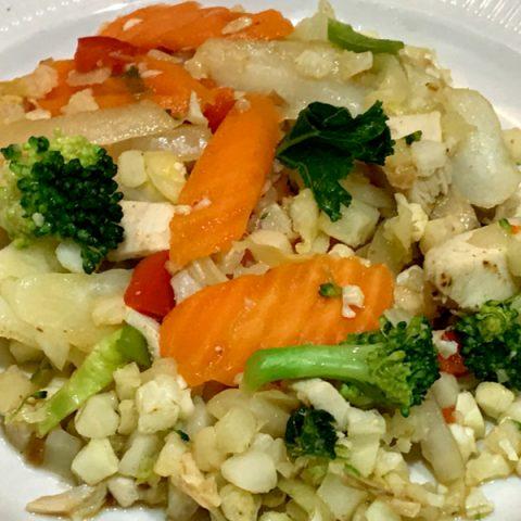 cauliflower stir fry