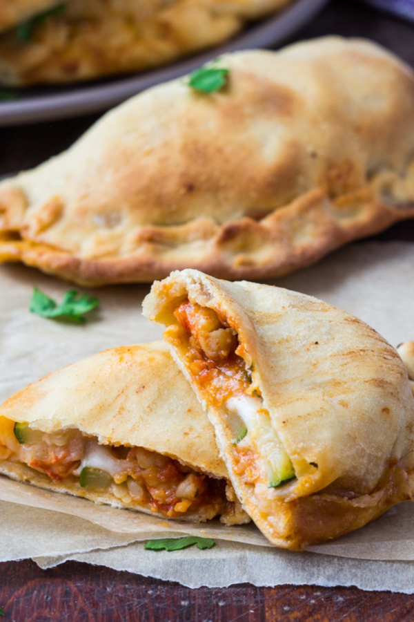 air fryer calzones