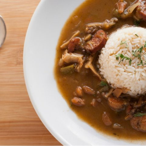 Cajun Gumbo With Andouille Sausage and Chicken