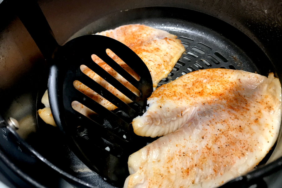 flip air fryer tilapia