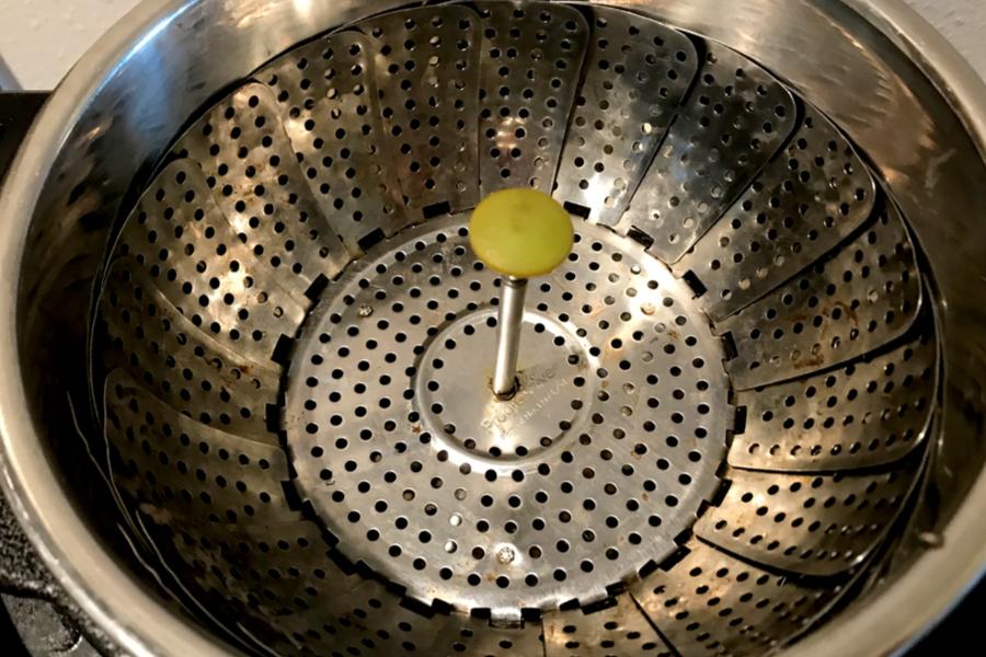 steamer basket for instant pot edamame