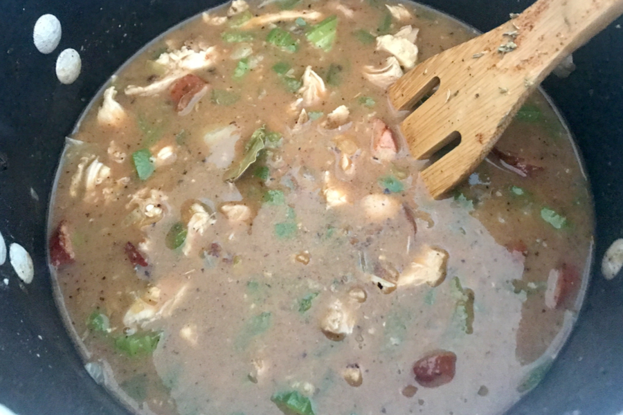boil cajun gumbo