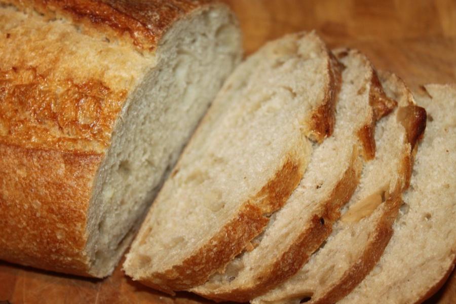 slices of artisan bread