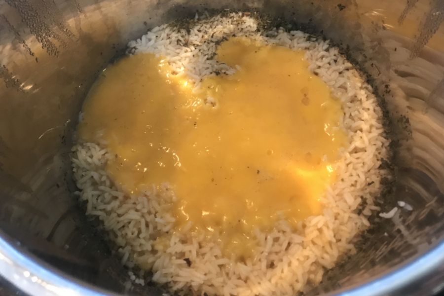rice and cheese