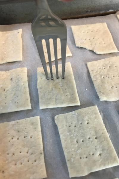 pricking dough