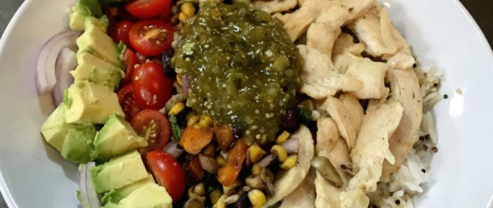 Baja Chicken Bowl – Inspired by Panera's Warm Grain Recipe