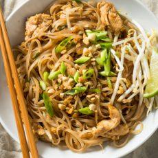 instant pot chicken pad thai