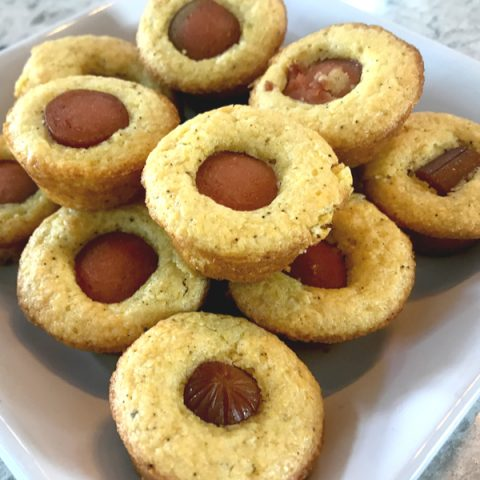 mini muffin corn dog
