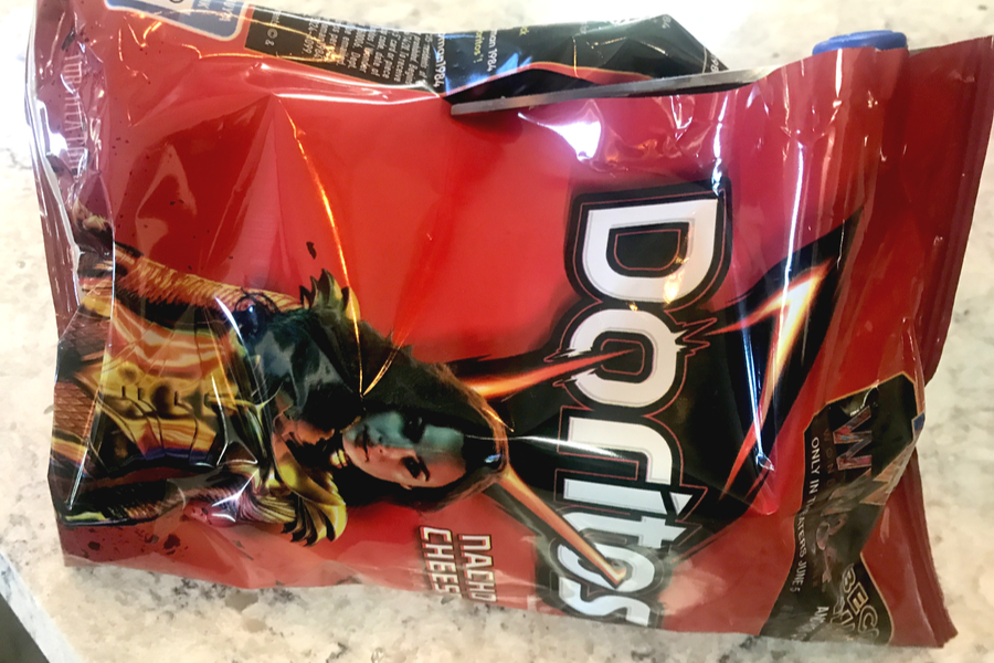 doritos cut on side