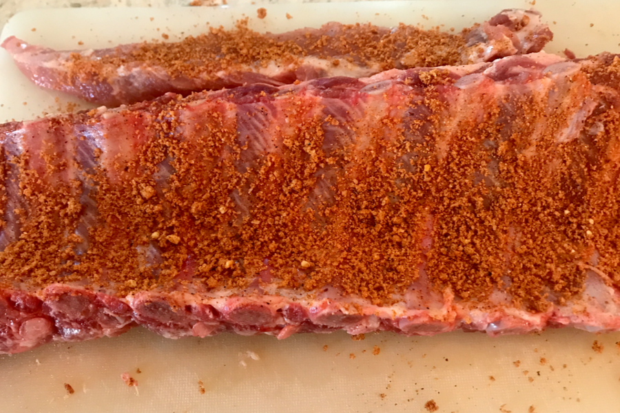 dry rub on ribs