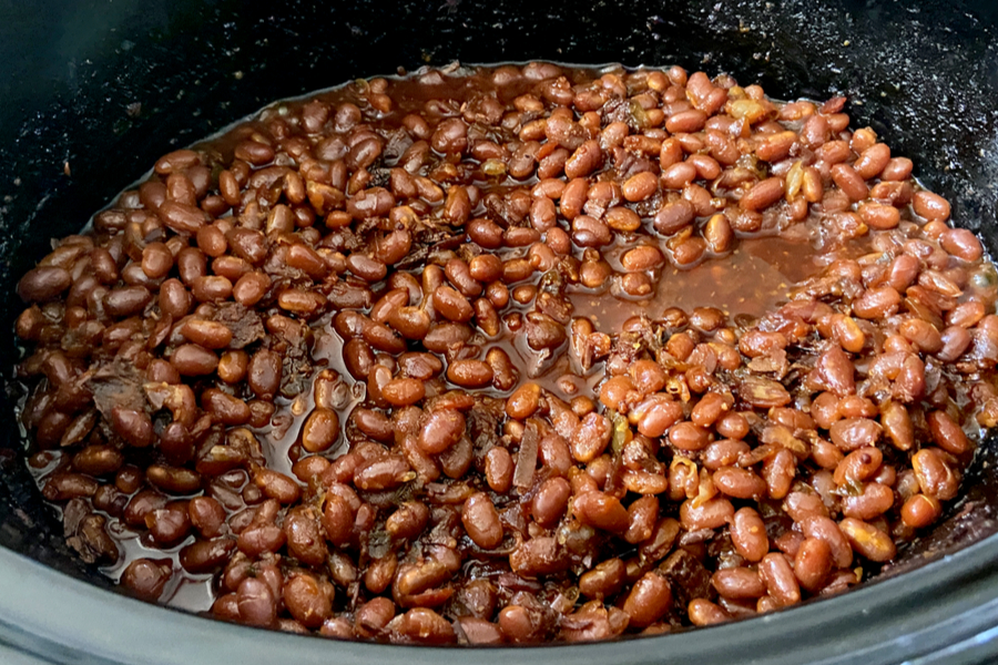 baked beans in slow cooker