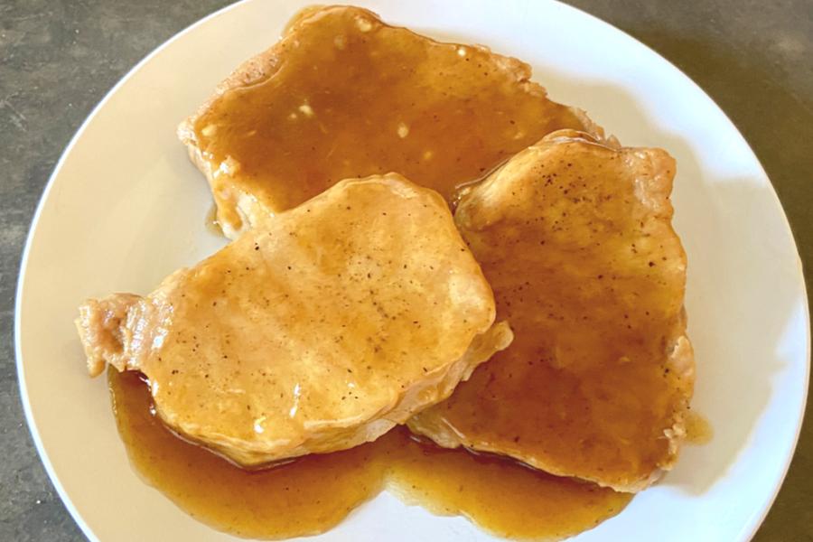 honey garlic glaze
