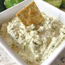 cucumber cream cheese spread