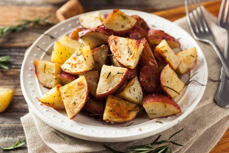 air fryer ranch potatoes