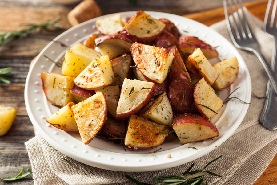 air fryer ranch potatoes