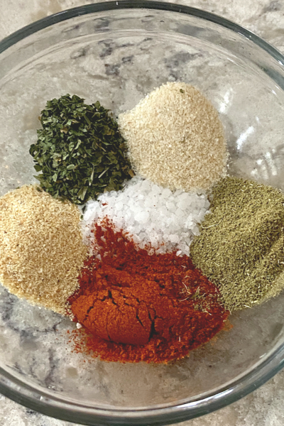 dry rub chicken spices