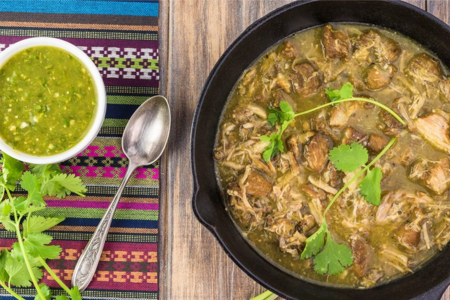 instant pot chicken chile verde