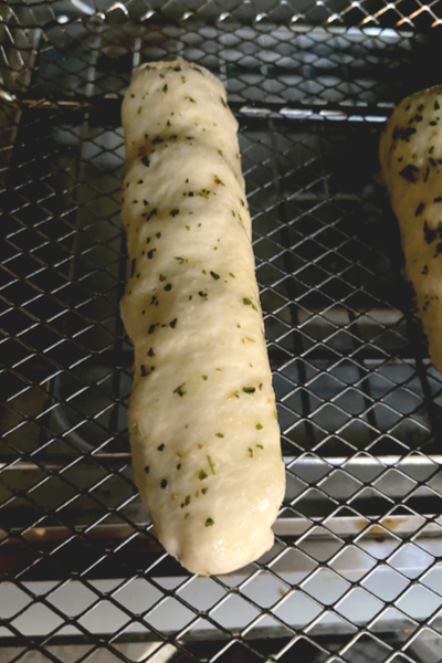 pizza stick in air fryer