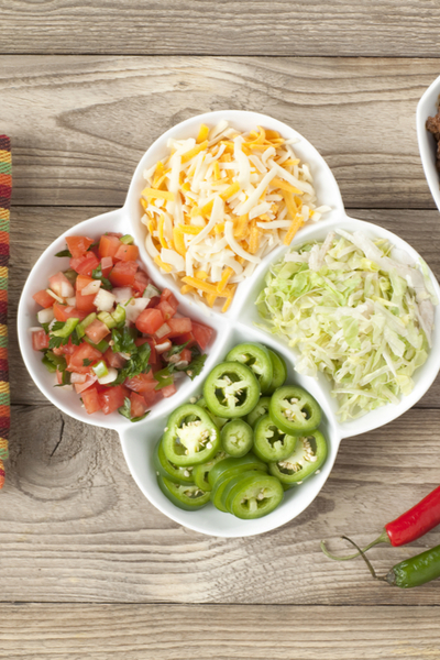 taco casserole toppings