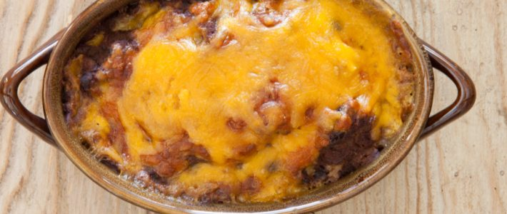 cheesy ranch bean dip