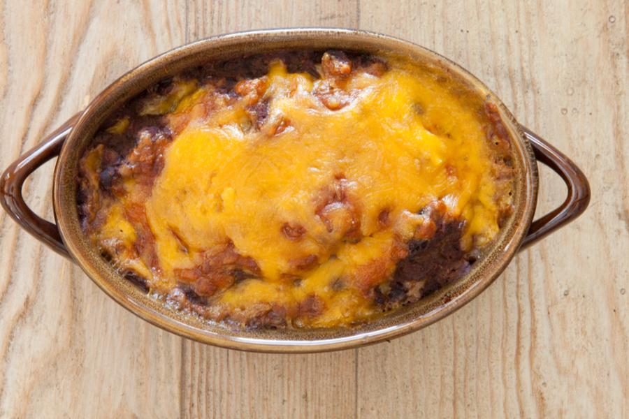 cheesy ranch bean dip