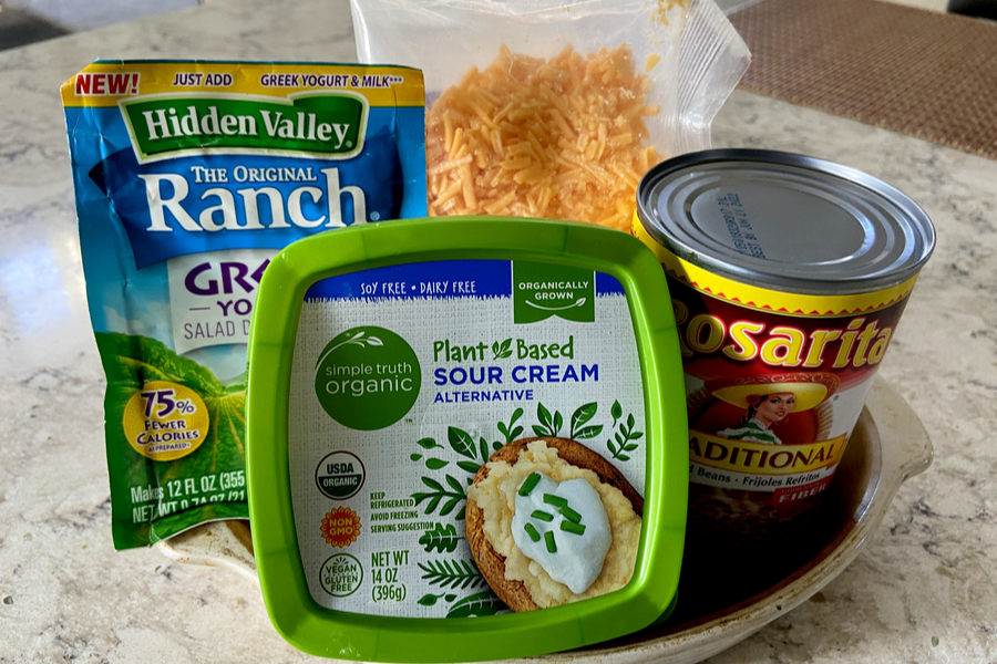 cheesy ranch bean dip ingredients