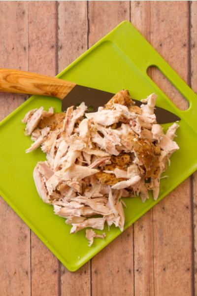 rotisserie chicken shredded
