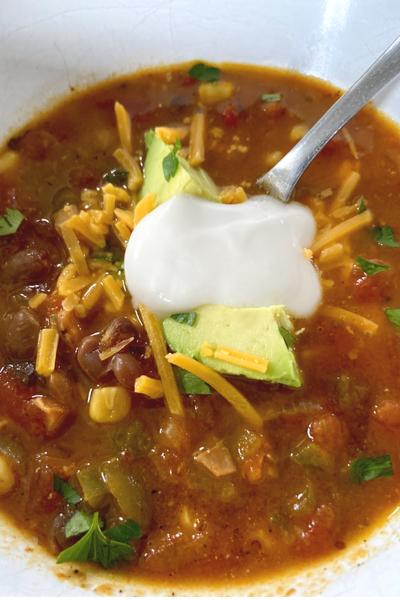 garnish soup