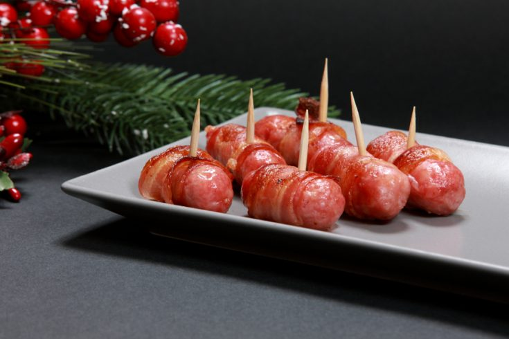 candied bacon smokies