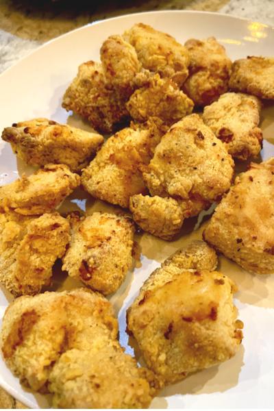 air fryer chicken mini
