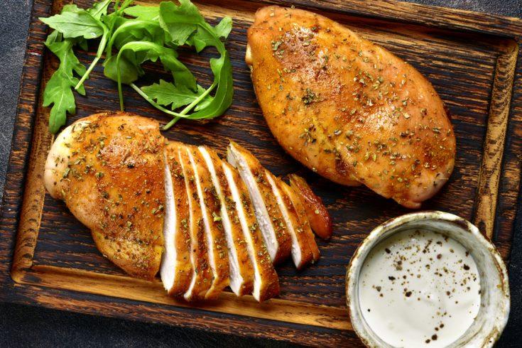 cook chicken in an air fryer