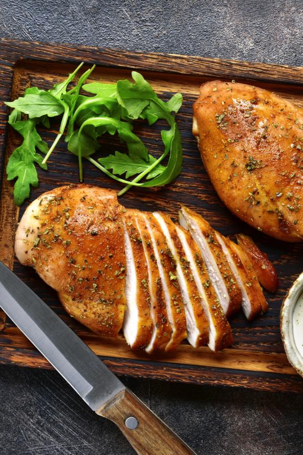 cook chicken breast in air fryer