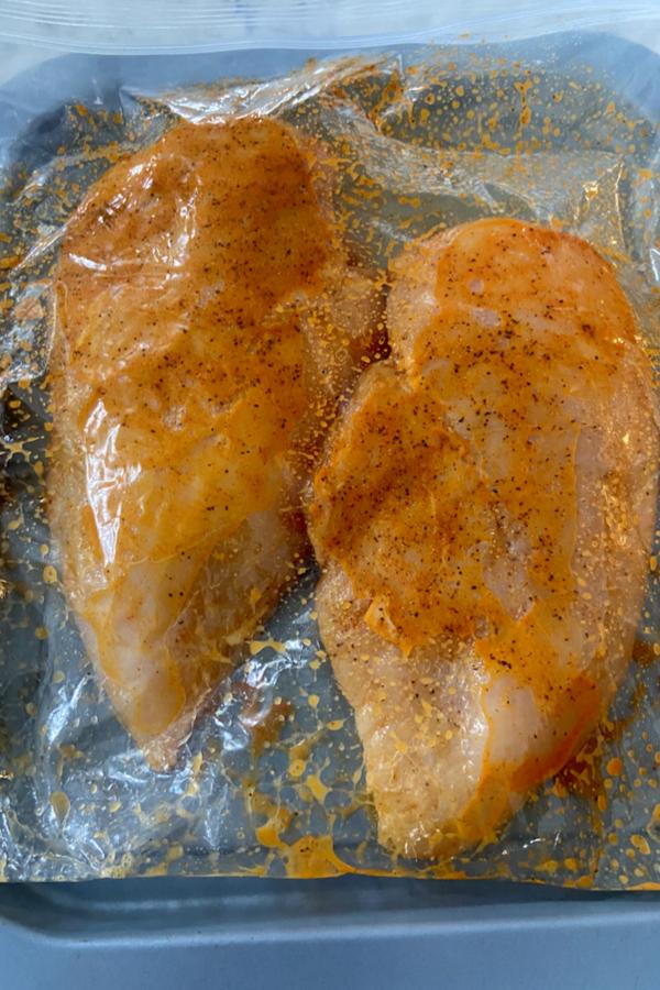 marinating chicken
