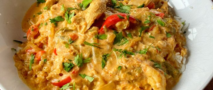 instant pot chicken fajita casserole