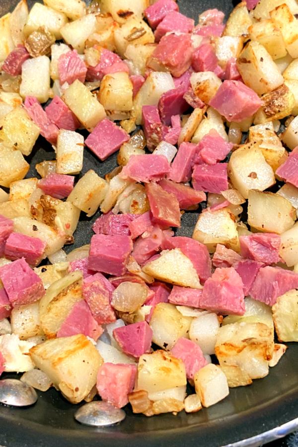 cooked corned beef hash