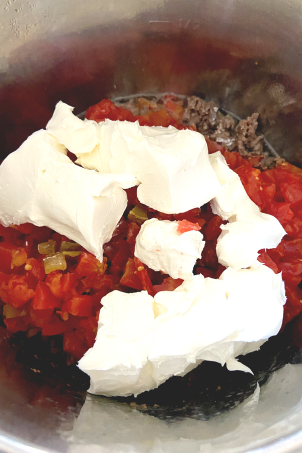 tomatoes and cream cheese