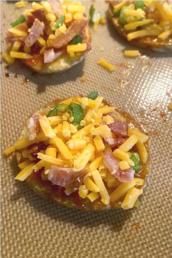 loaded baked potato rounds toppings