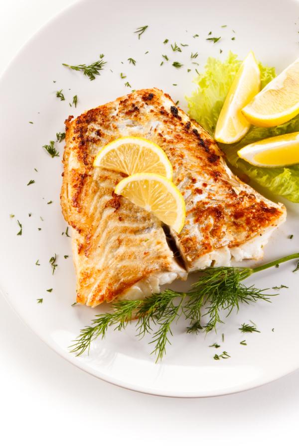 air fryer cod dinner