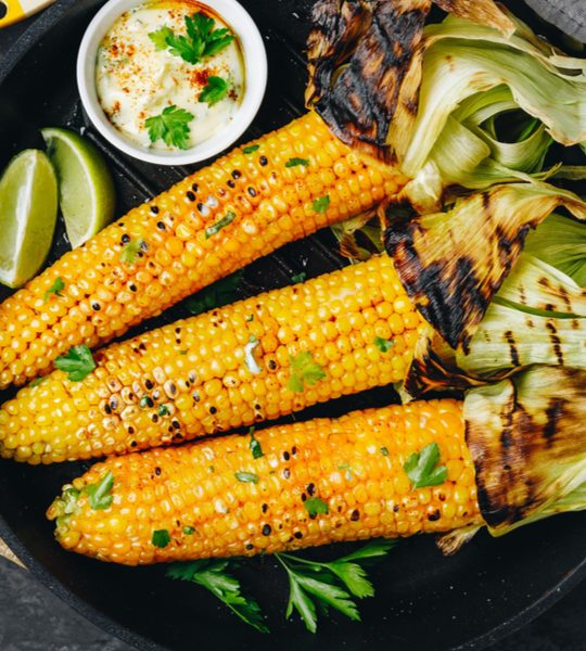 grill corn on the cob