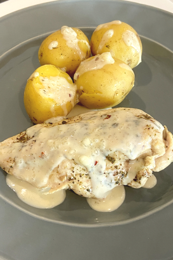 instant pot ranch chicken and potatoes