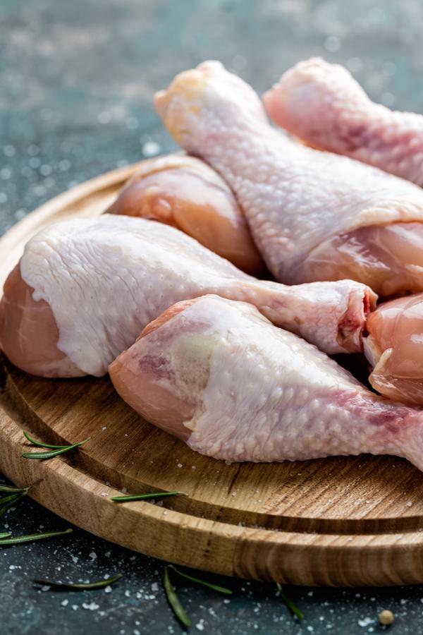 raw chicken legs